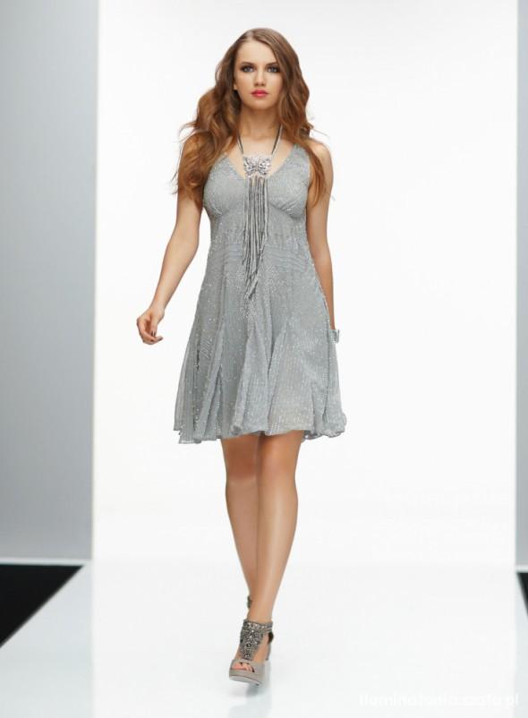 Sukienka Miss Selfridge szara...