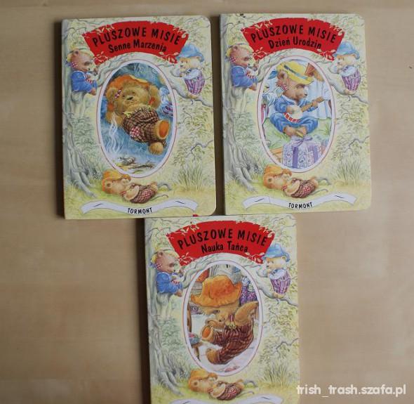 Zabawki Pluszowe misie 3 książeczki seria 1