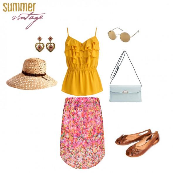 Vintage summer vintage