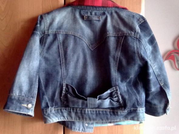 Kurtka żakiet jeansowa HOUSE rM krótka rękaw 075