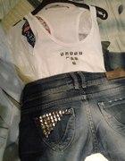 Szorty i koszulka DIY...