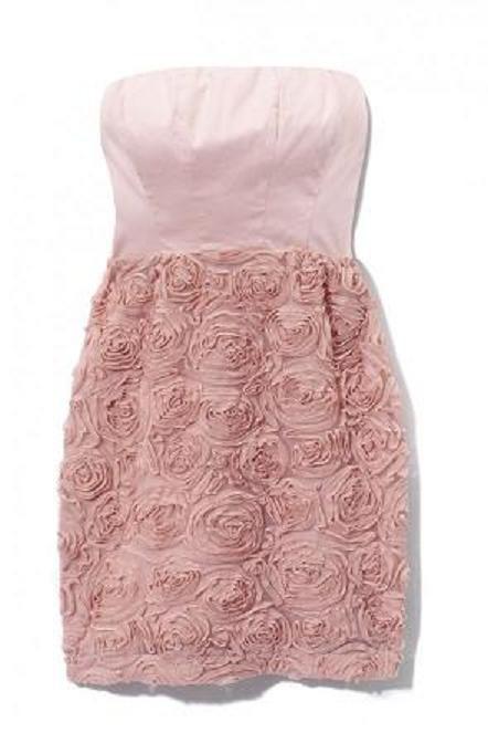 Suknie i sukienki sukienka MOHITO w róże brudny róż pastelowa