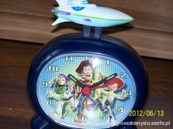 Zabawki Budzik TOY STORY Disney