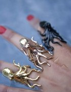 Pierścionki ośmiorniczki meduzy