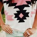 minty trousers&aztec print