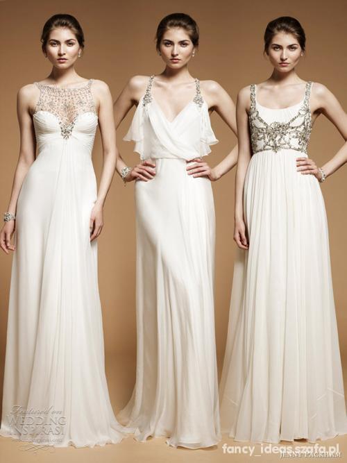 piękne ślubne sukienki