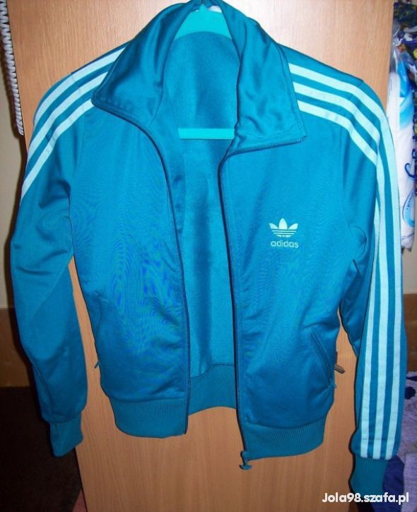 bluza adidas morski kolor w Bluzy Szafa.pl