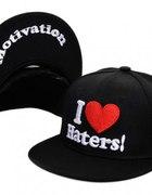 Czapka DGK snapback I LOVE HATERS blogerski styl