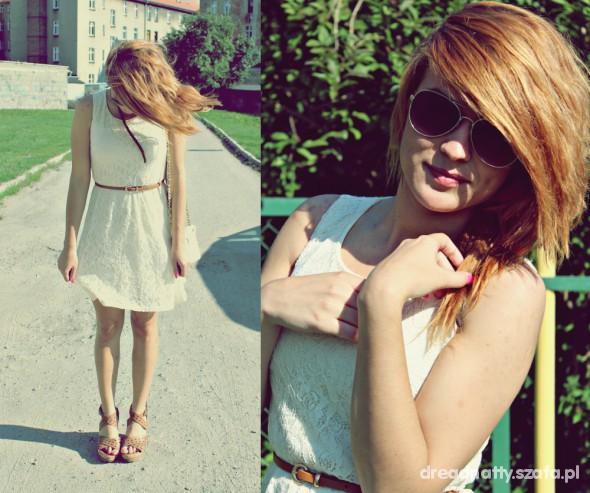 Romantyczne Love me in lance dress