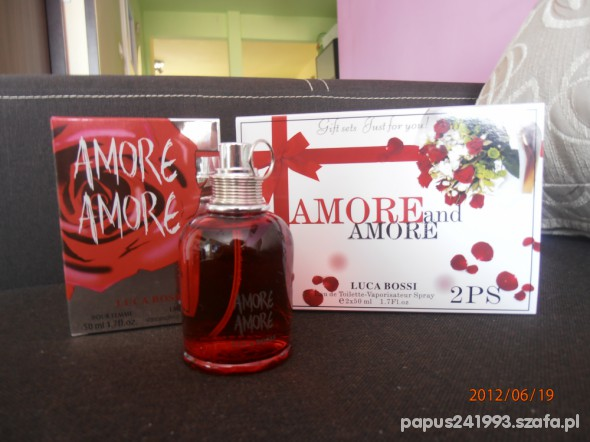 AMORE AMORE LUCA BOSSI