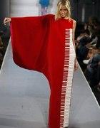 Sukienka fortepian