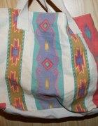TORBA navajo INDJANKA aztec hippi eko bag