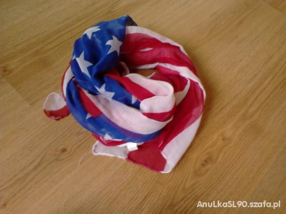 Chusty i apaszki Flaga USA XXL