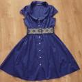 Piękna sukienka z paskiem ATMOSPHERE okazja z UK