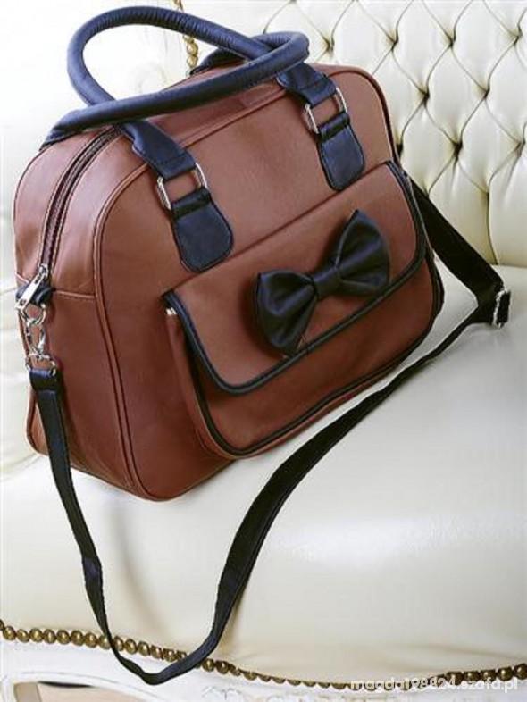 2ca7c3305676f super modna torebka listonoszka z kokardką w Torebki na co dzień ...