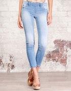 Dżinsowe legginsy...