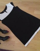 nowoczesna mała czarna w stylu retro...