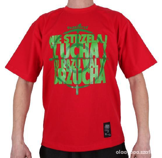 różne style odebrane zakupy KOSZULKA GRUBE LOLO NIE STRZELAJ RED w Koszulki i t-shirty ...