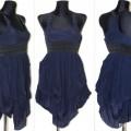 Granatowa tunika sukienka ATMOSPHERE