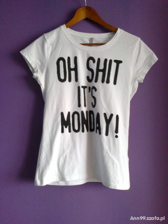 T-shirt oh shit its monday