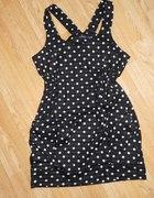 Sukienko tunika w groszki ATMOSPHERE L