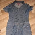 Jeansowa szmijzerka sukienka