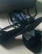 CROPP sandałki czarne 36...