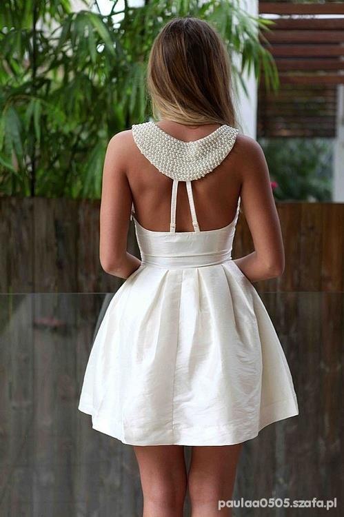 Romantyczne white dress