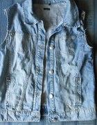 Kamizelka jeansowa...
