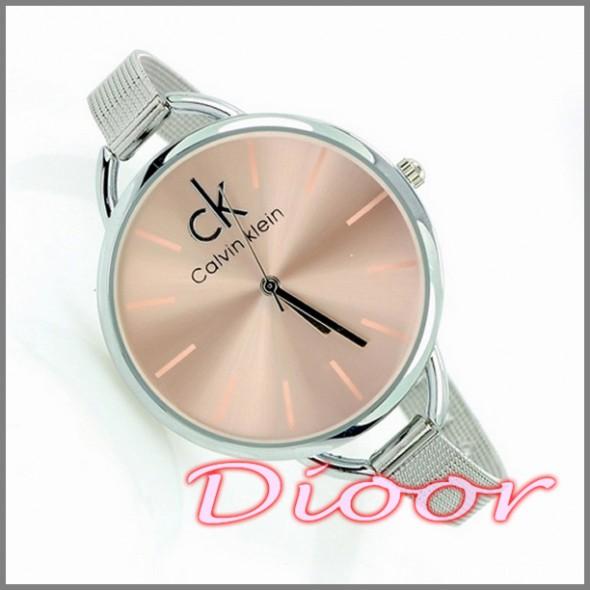 Zegarek Calvin Klein Duża Tarcza Srebrny W Zegarki Szafapl