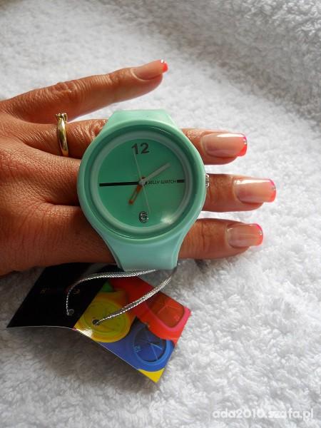 Zegarki Miętowy zegarek