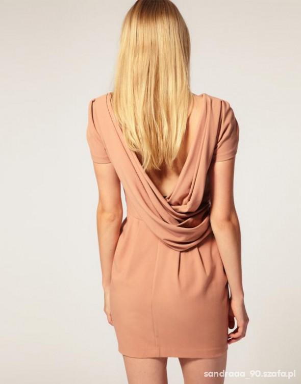 Suknie i sukienki asos bez pleców