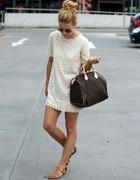 sukienka i ta torebka LV mmm