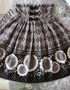 Bodyline Antique Clock skirt...