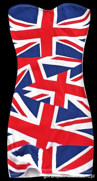 sukienka flaga
