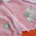 Pareo mgiełka z haftem