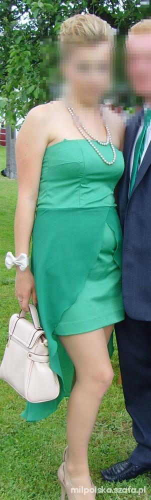 Sukienka z ogonem