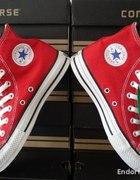 Converse RED czerwone