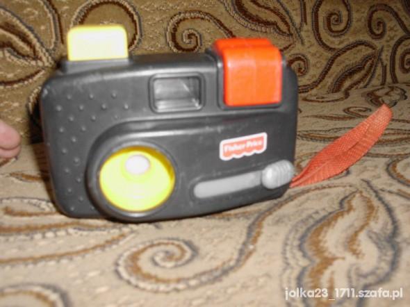 Zabawki aparat ze zdjeciami z zoo fisher price