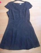 Czarna sukienka mini F&F R L