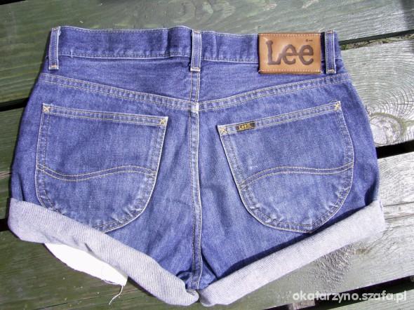 jeansowe spodenki Lee