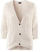 Ażurowy sweter h&m