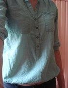 Miętowa koszula