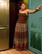 Spódnica w stylu indyjskim lub boho