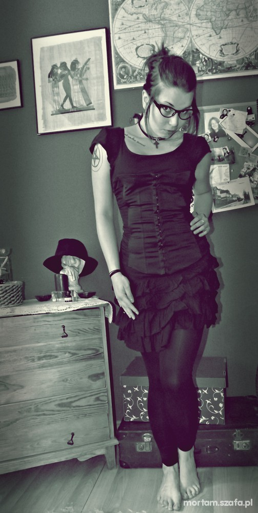 Mój styl lady in blackonly black