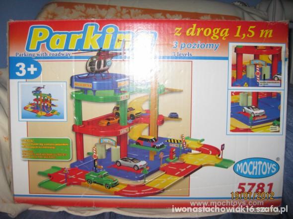 Zabawki Garaż zabawka dla dzieci