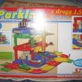 Garaż zabawka dla dzieci