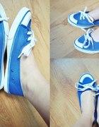 Modrakowe balerinki...