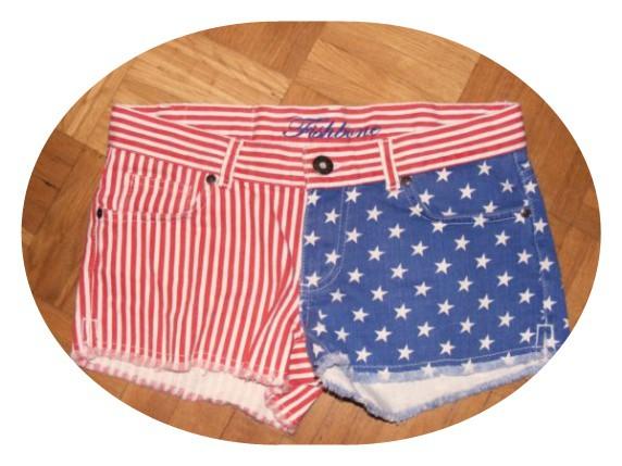 SPODENKI FLAGA USA...