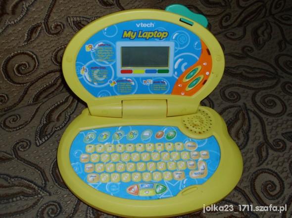 Zabawki edukacyjny laptop v tech